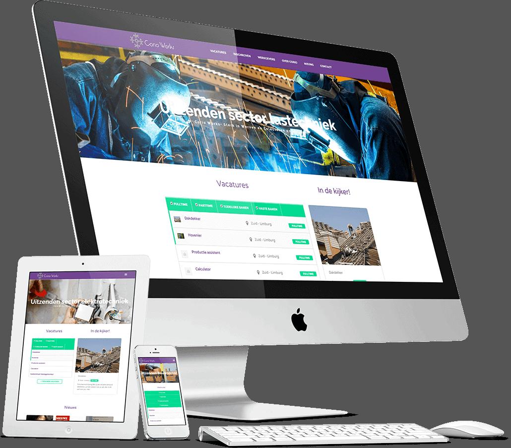 Website Corio Works