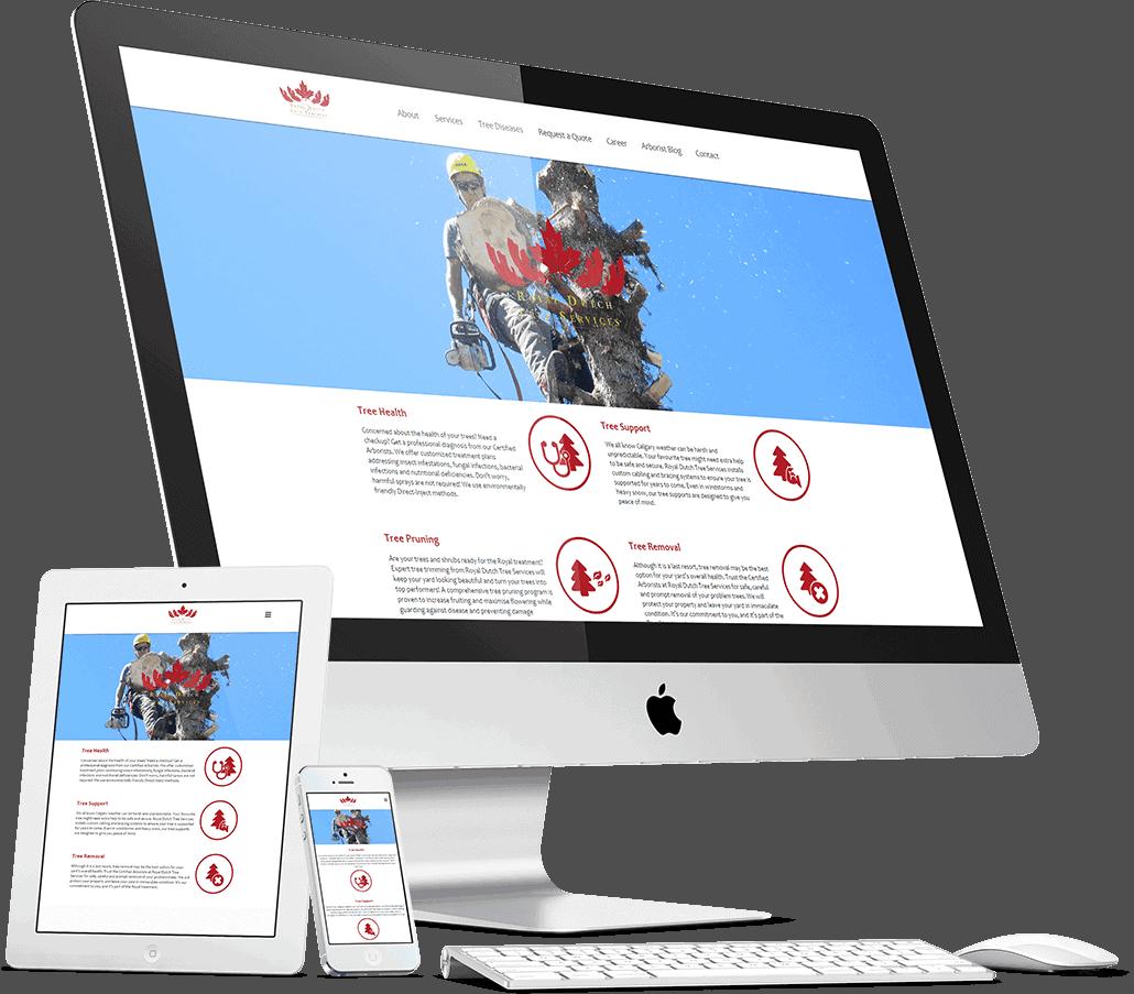 Website Royal Dutch Tree Services