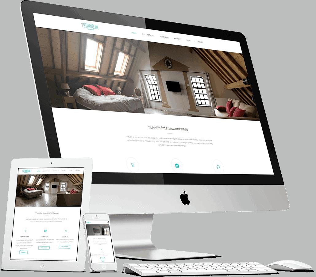 De website van Ystudio